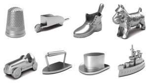 The standard edition of Monopoly containing the iron will be available throughout 2013. Credit: Hasbro