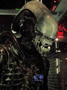 """Full-size Xenomorph from """"Alien."""" Credit: Angela Graves"""