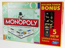 A limited edition Classic Golden Monopoly with all of the tokens will be available on February 15.