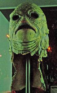 """""""Creature from the Black Lagoon"""" mask. Credit: Angela Graves"""