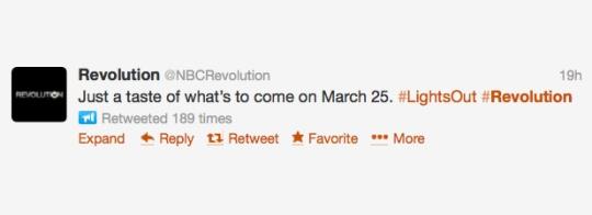 Revolution Tweet 1