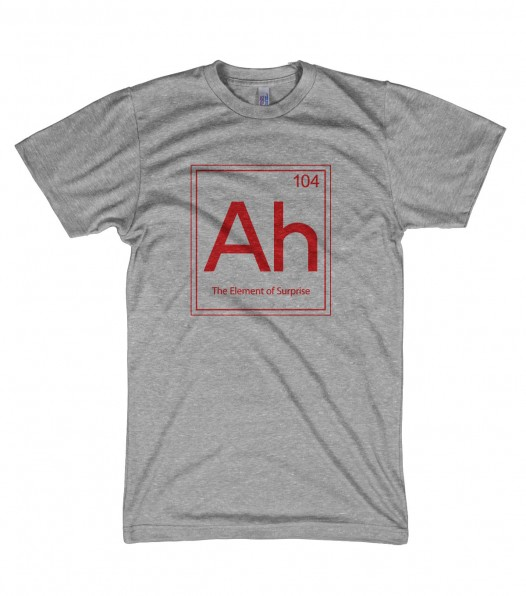 """Ah"" from CrazyDogShirts"