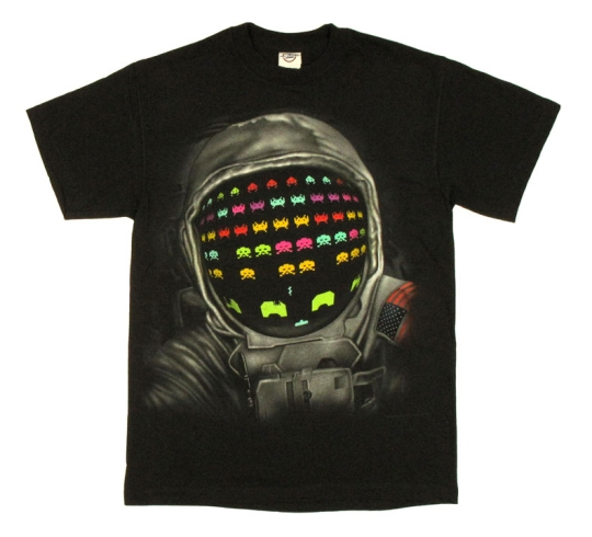 """Atari Space Invaders Astronaut T Shirt"" from StylinOnline.com"