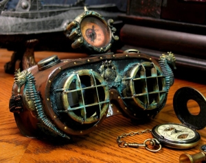 Nautical goggles fit for Captain Nemo himself! Credit: Fred Jeska