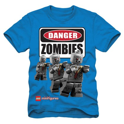 """Danger: Zombies"" from ThinkGeek.com"